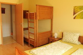 4-Bettzimmer / Appartement