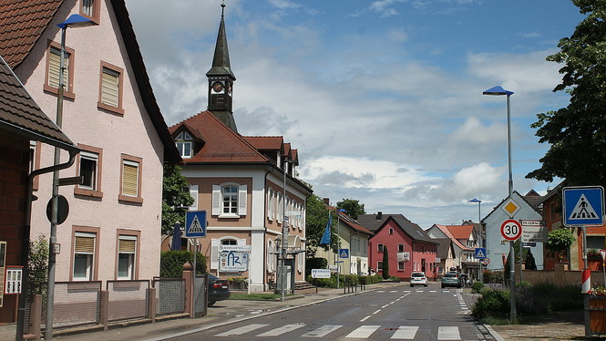 Straße in Rust